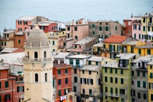 Vernazza and the Church of Santa Margherita d'Antiochia