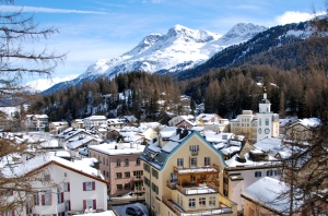 Sils Maria, a tiny perfect Swiss village with surprising cultural importance.