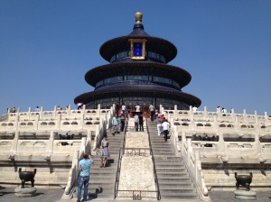 Temple of Heaven in Beijing.