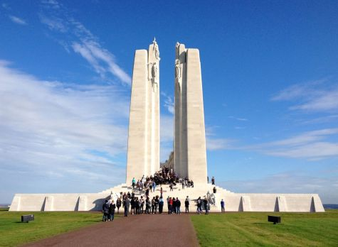 Canadian National Memorial at Vimy Ridge.