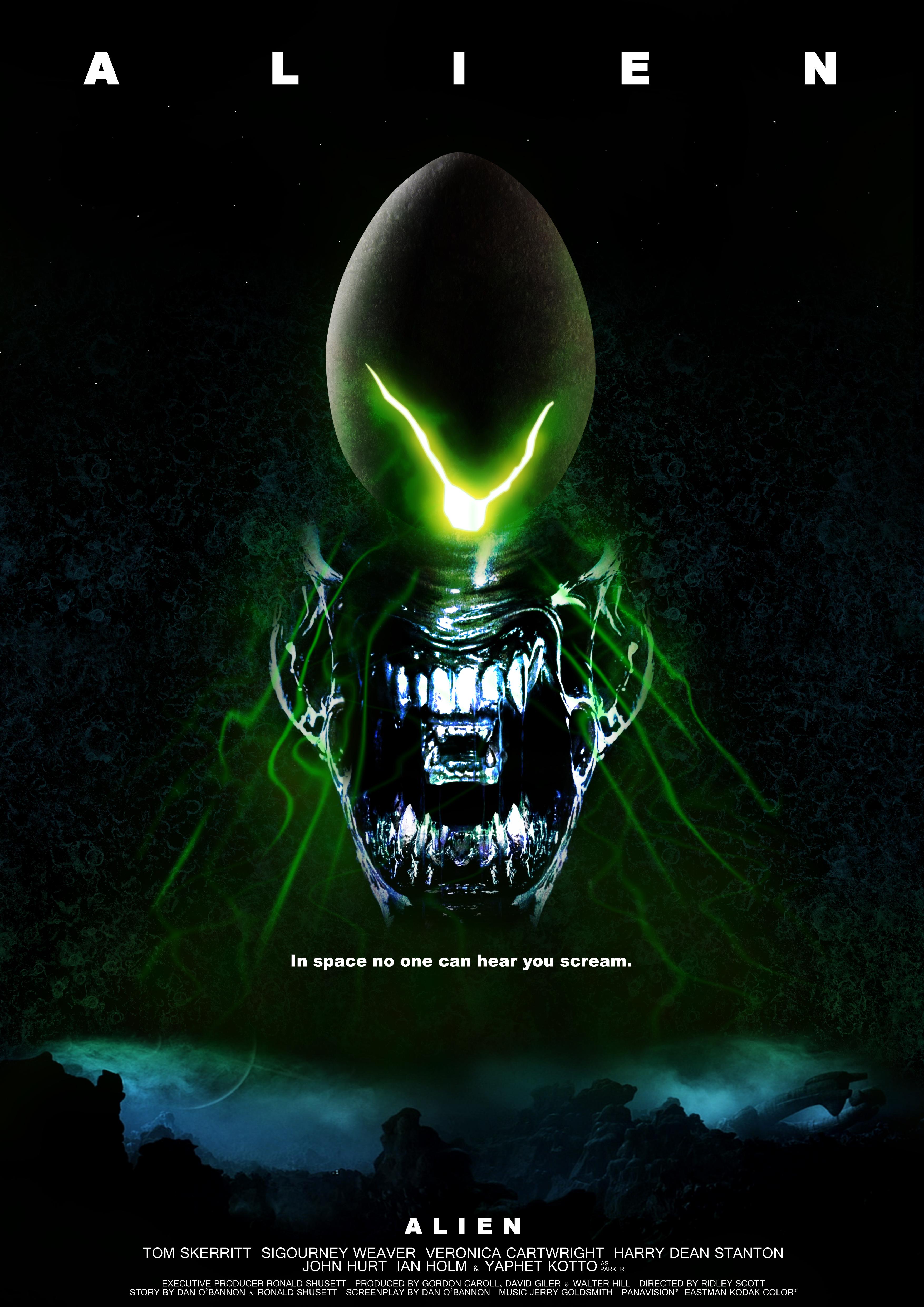 alien movie poster original - photo #1