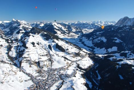 Looking north towards Rougemont and Gstaad.