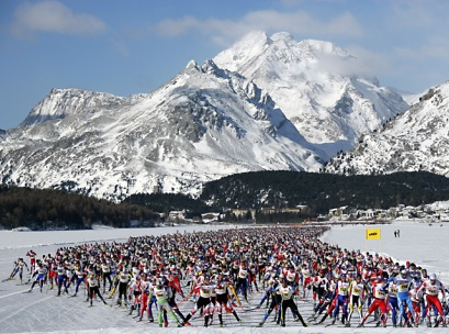 This is what 13,000 xc skiers looks like.