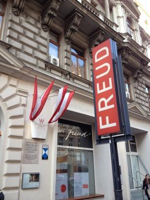 The Sigmund Freud Museum at 19 Bergstrasse.