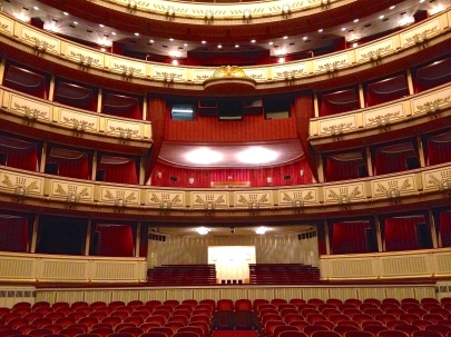 Box seats at the Staatsoper.