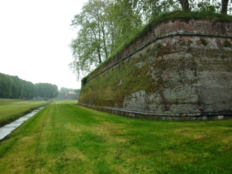 Exterior walls of Lucca, up to 60ft high