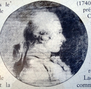 The Marquis de Sade.