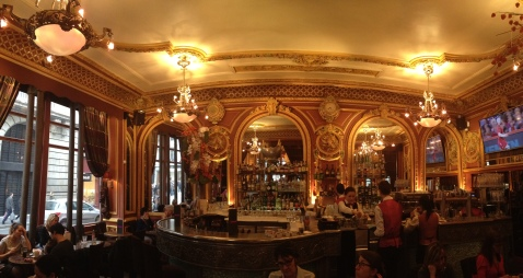 Grand Cafe des Negotiants, which first opened its doors in 1864.