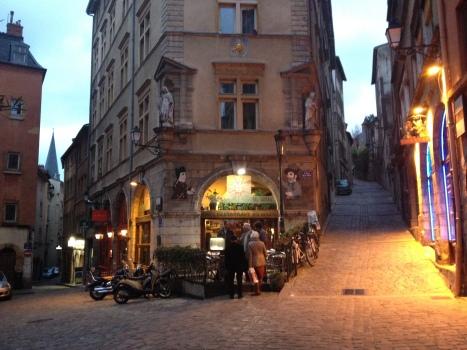 Streets of Vieux Lyon.