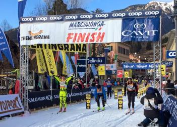 Happy finishers of the 2015 Marcialonga.