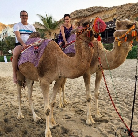 Because honestly, how many opportunities do you get to ride a camel?!